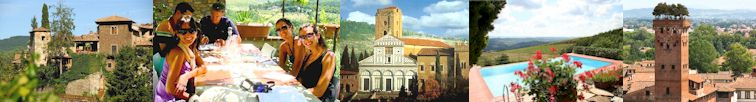Tuscany wines vacation rentals